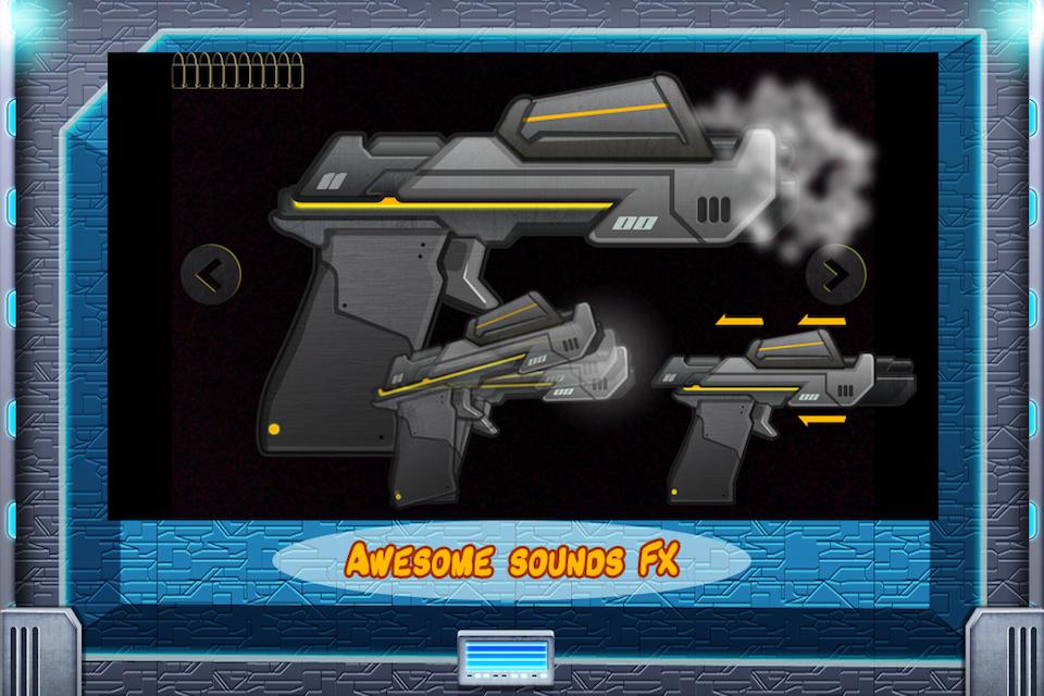 Screenshot Galactic Weapons